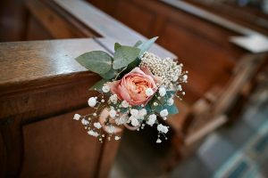 Fleurs église_Fleuriste mariage Paris_ Le Jardin d'Audrey