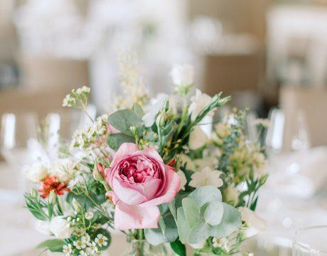 Centre de table - Fleuriste mariage Paris - Le Jardin d'Audrey
